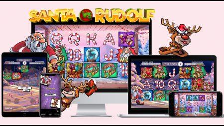 NetEnt AB getting in the Christmas spirit with new Santa vs Rudolf video slot
