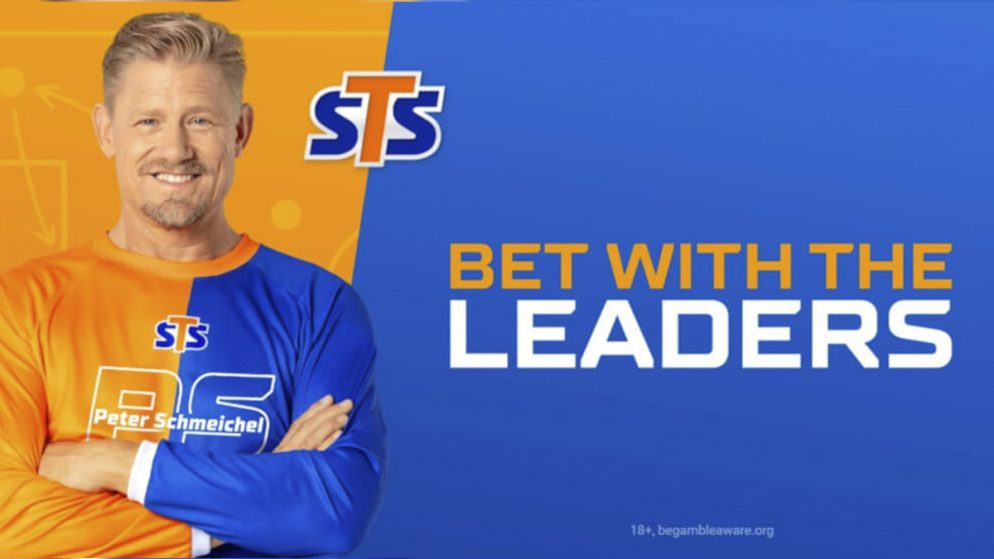 """Peter Schmeichel Becomes Global Ambassador of STS's """"Bet with the leaders"""" Campaign"""