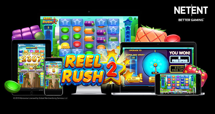 NetEnt gets player adrenaline pumping with new Reel Rush 2 slot release