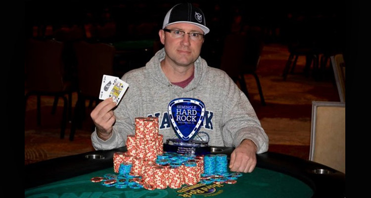 Ben Boston wins first event of 2019 Seminole Hard Rock Rock 'N' Roll Poker Open