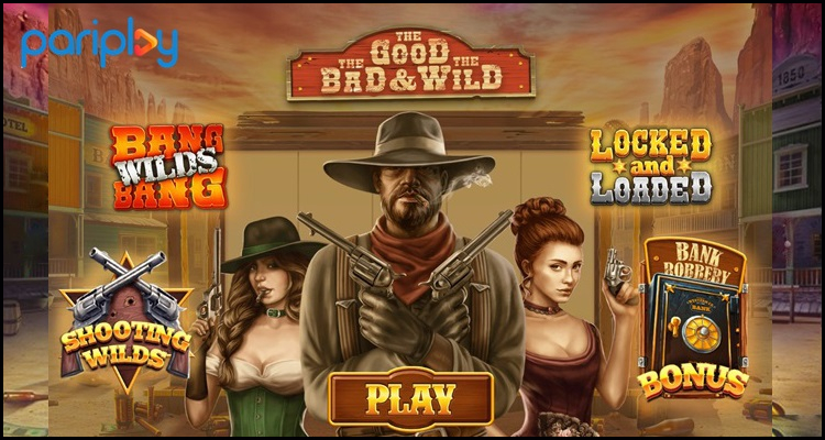 Pariplay Limited goes west for its The Good, The Bad and The Wild video slot