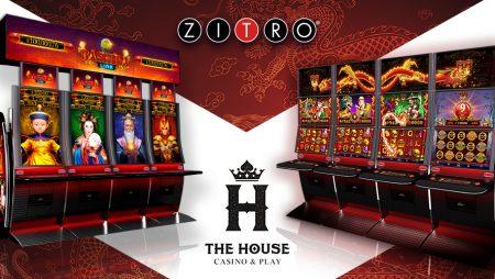 Casino House deal with Zitro