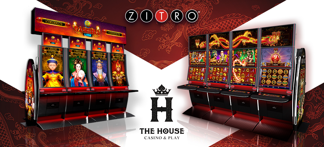 Casino House deal with Zitro