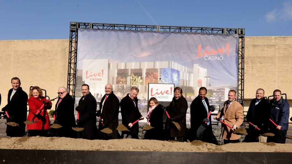 Cordish Celebrates Groundbreaking Ceremony for $150 M Live! Casino