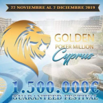 Golden Poker Million Cyprus to start this weekend