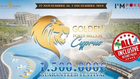 Golden Poker Million Cyprus to start this weekend