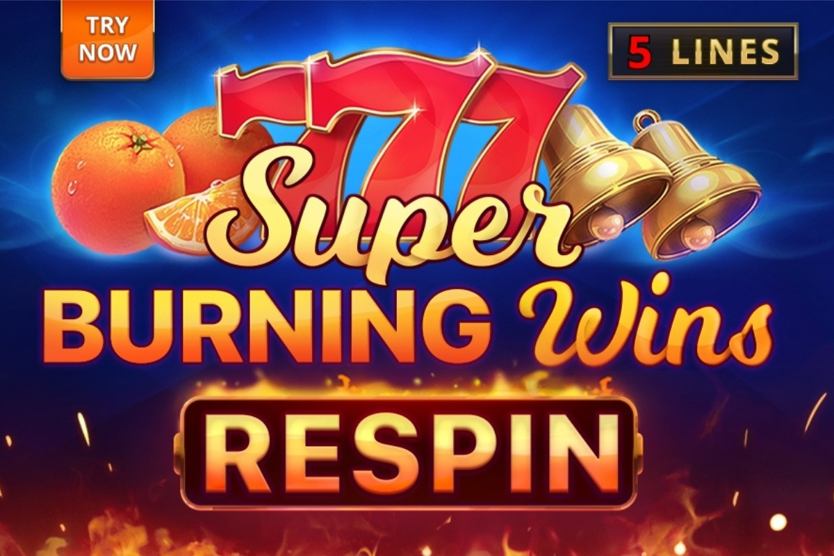 Playson fires players up with Super Burning Wins: Respin