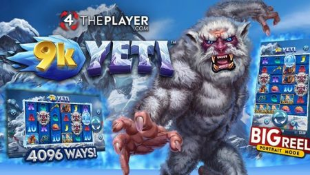 Ascend Everest in the epic new 9k Yeti slot from 4ThePlayer.com via Yggdrasil's YGS Masters