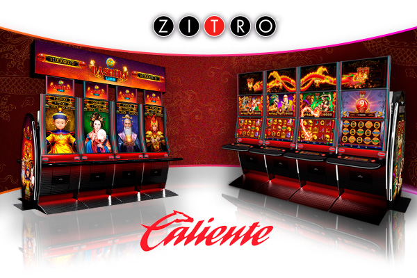 Zitro cabinets for Casino Caliente