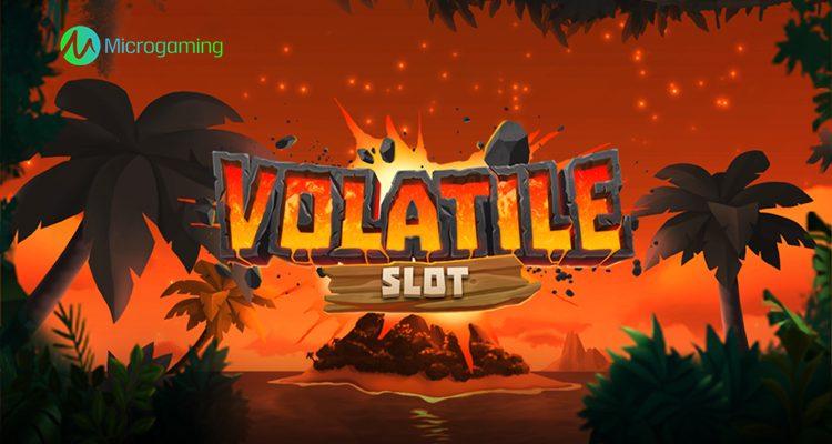 "Microgaming releases ""Volatile Slot"" via exclusive deal with Golden Rock Studios"