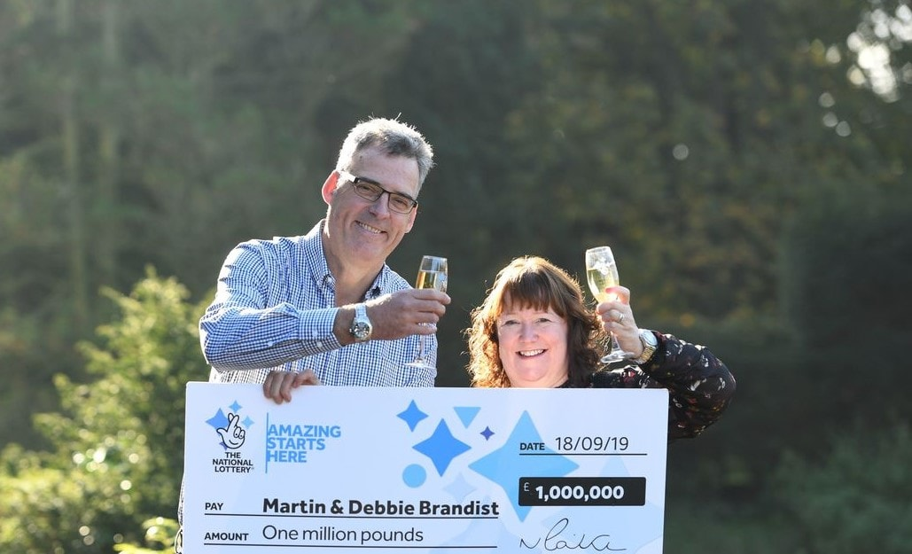 UK Couple Win £1 Million in Lottery After 25 Years of Using the Same Winning Numbers