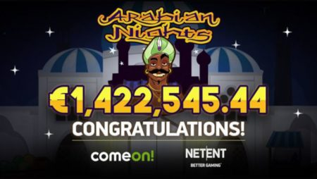 Swedish online casino player banks €1.4 million Arabian Nights jackpot