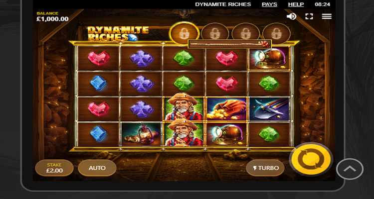 Red Tiger releases new explosive slot Dynamite Riches