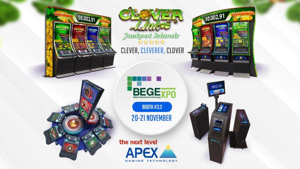 Clover Link centre stage at BEGE