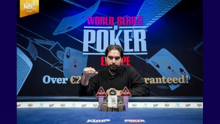 Alexandros Kolonias earns 2019 WSOPE Main Event Title