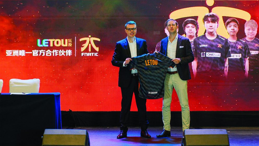LeTou Signs Sponsorship Deal with Fnatic