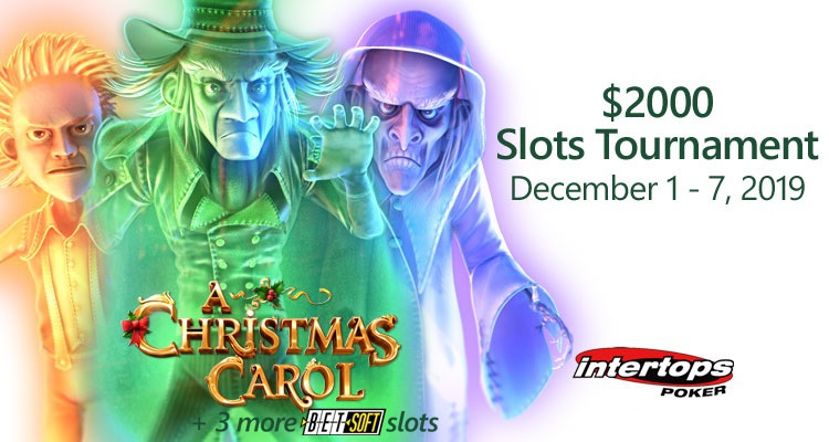 Intertops Poker featuring $2,000 Slots Tournament this December featuring Betsoft titles
