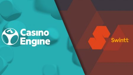 """CasinoEngine to integrate """"new star"""" Swintt's gaming content"""