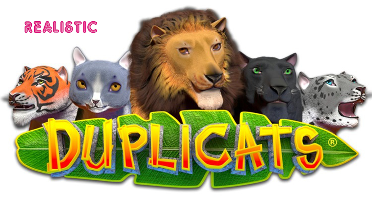 Realistic Games announces unique cat-themed Duplicats slot game