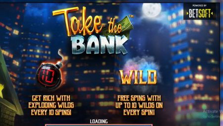 Join in on a fast-paced heist in Betsoft Gaming's new Take the Bank slot