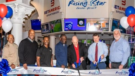 Rising Star Casino Resort in Indiana opens new BetAmerica retail sportsbook