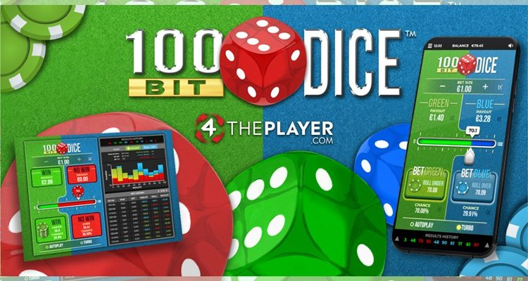 Newly released crypto-style dice game from British studio 4ThePlayer now live with Relax Silver Bullet platform