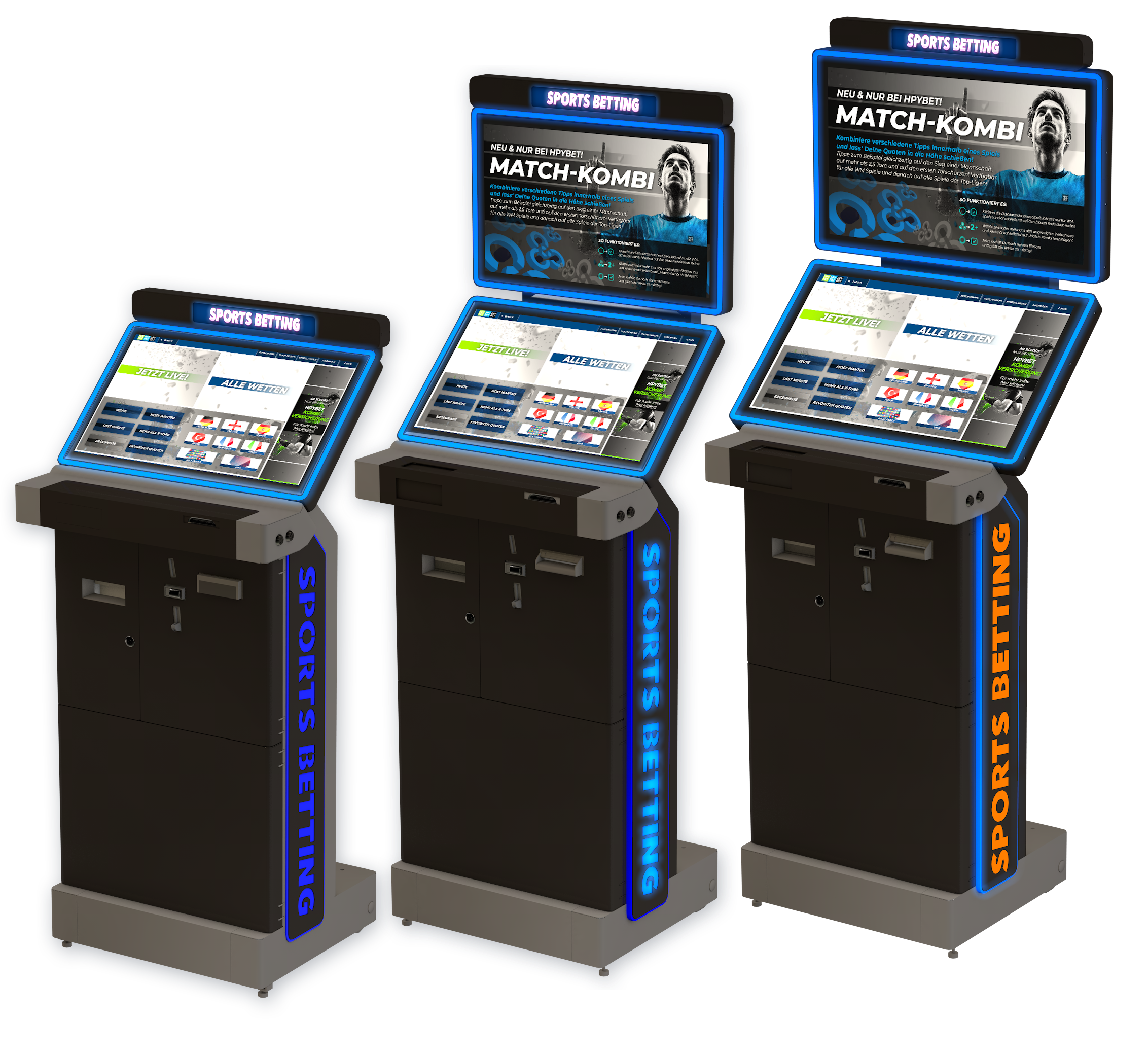 AMUsys marks 20th with new sports betting terminals