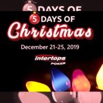 New five days of Christmas promotion starts this week at Intertops Poker