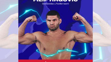 FavBet presents Filip Hrgović as the new brand ambassador