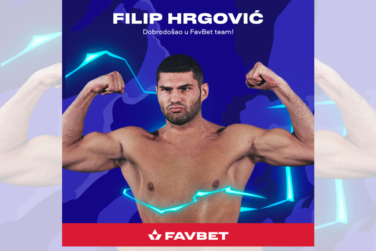 FavBet presents Filip Hrgović as the new brand ambassador