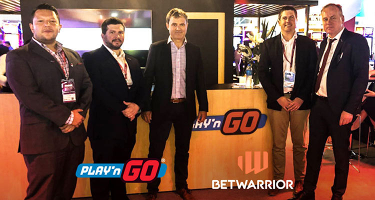 Play'n GO agrees new commerical deal with BetWarrior