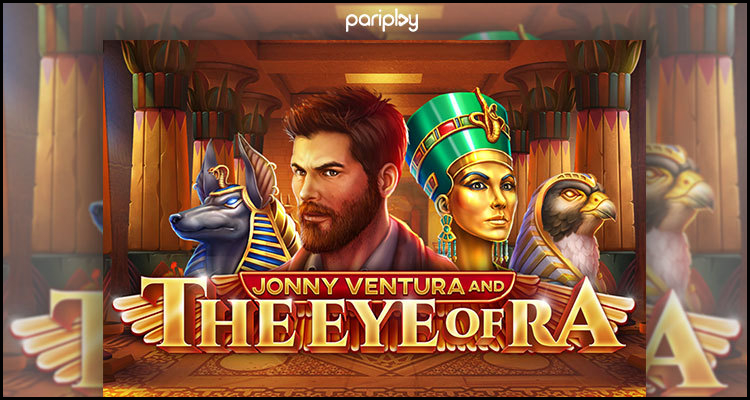 Pariplay Limited premieres new Jonny Ventura and The Eye of Ra video slot