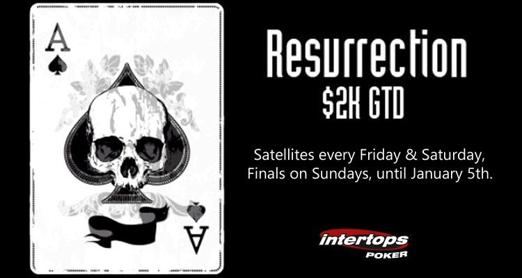 Intertops Poker announces new guaranteed poker tournaments for players