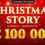 Playson spreads holiday cheer with three cash prize tournaments via slot play