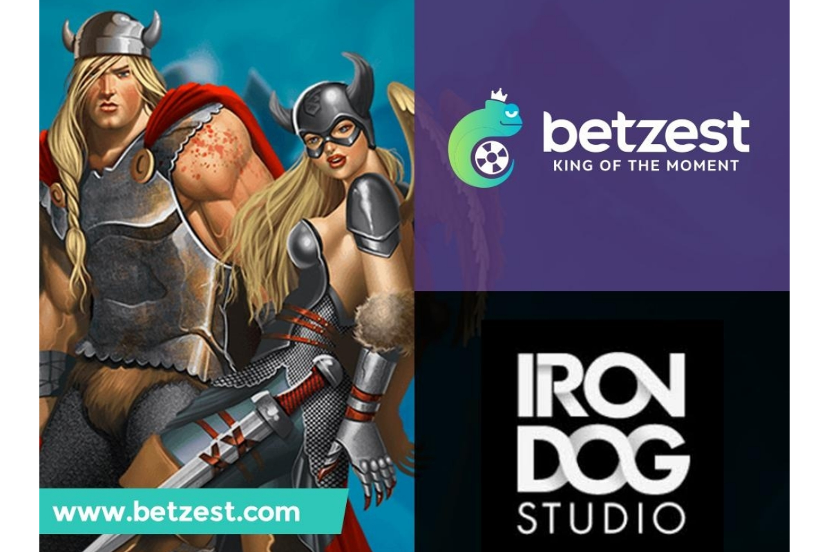 Online Casino and Sportsbook BETZEST™ goes live with Iron Dog Studio™