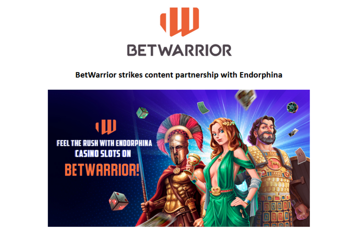 BetWarrior strikes content partnership with Endorphina