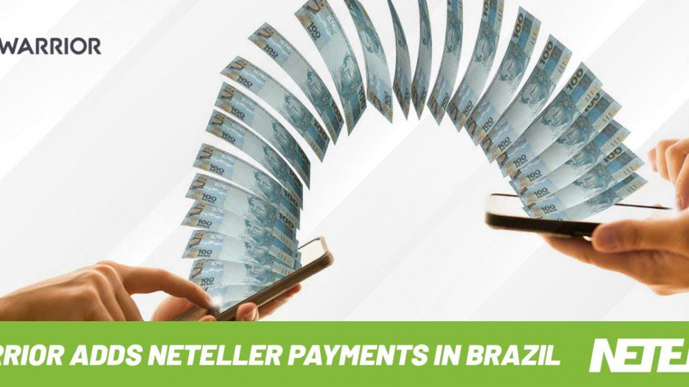 BetWarrior adds Neteller payments in Brazil