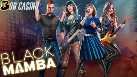 Black Mamba Slot Review (Play'n GO) — Another Rock Band Branded Slot