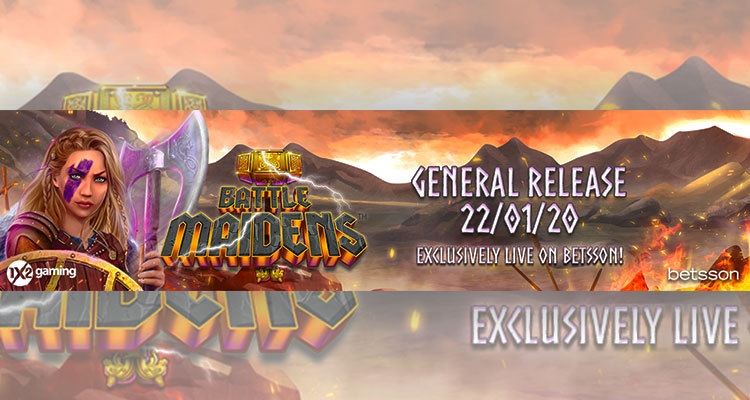 1X2gaming introduces epic Viking maiden saga with Battle Maidens slot release