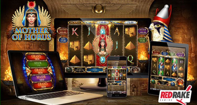 Red Rake Gaming introduces Mother of Horus slot game featuring upper bonus