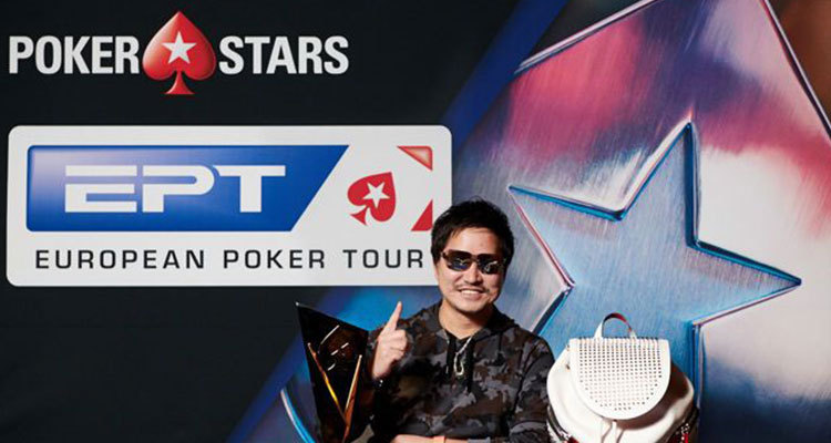 Tsugunari Toma earns two high roller tournament wins during 2019 PokerStars EPT Prague