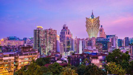 Macau Gross Gaming Revenue Falls 8.5% in November