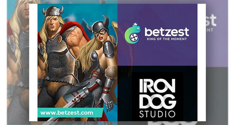 Online casino and sportsbook Betzest increases its games portfolio via new Iron Dog Studio deal