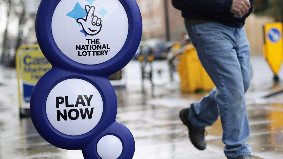 Recognition for UK National Lottery Operator Camelot for Supporting Responsible Gambling