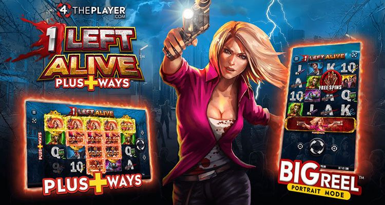 Be the 1 Left Alive with 4thePlayer's new online slot game release