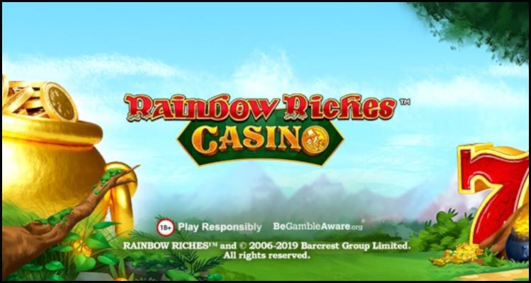 Gamesys Group premiering RainbowRichesCasino.com online casino
