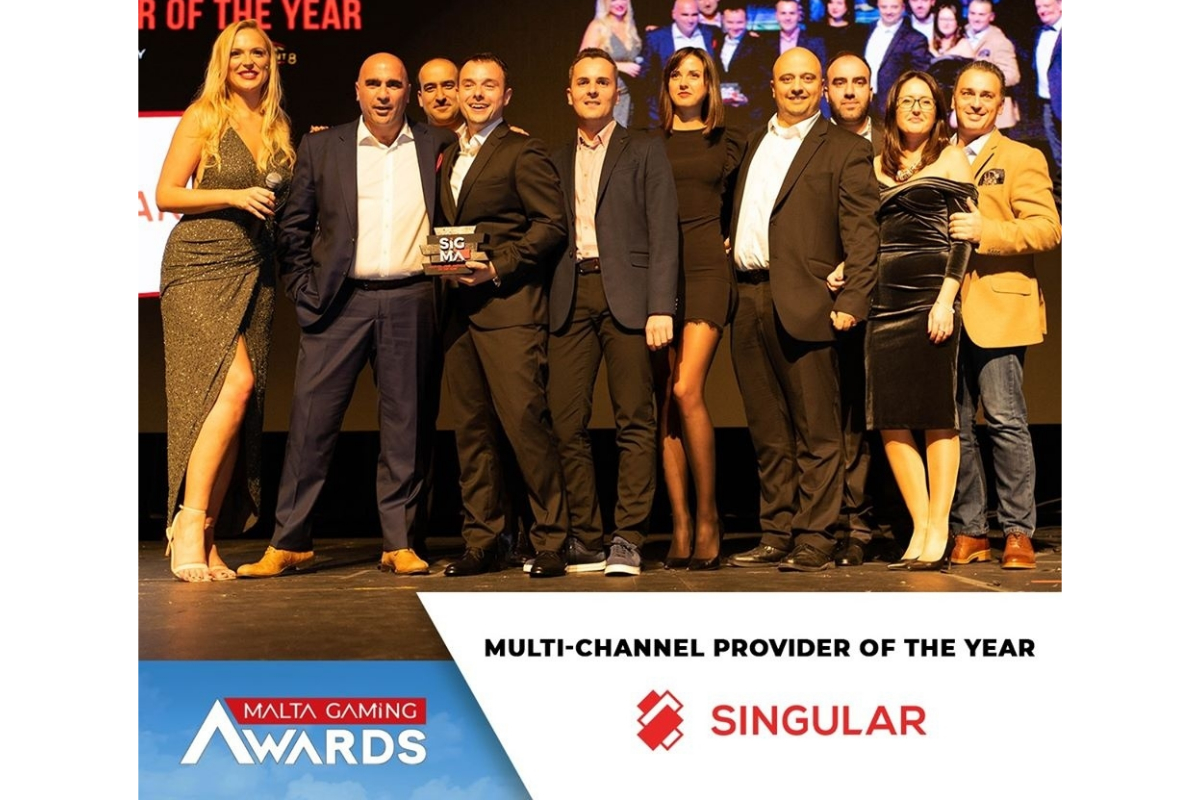 Singular Awarded Multi-Channel Provider Of The Year