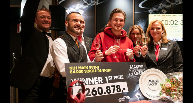 Kevin Paqué wins Master Classics of Poker €4,300 Main Event
