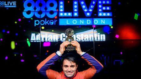 Adrian-Eugen Constantin wins 888poker LIVE Festival London Main Event via Small Qualifier
