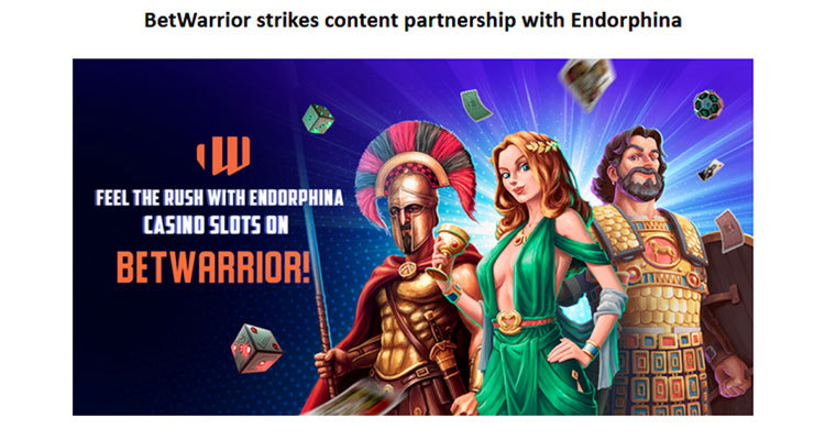 Endorphina agrees content deal with BetWarrior; launches new online slot Book of Santa